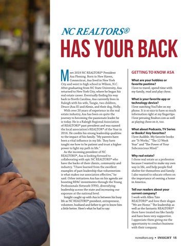 Page 15 of NC REALTORS® Has Your Back