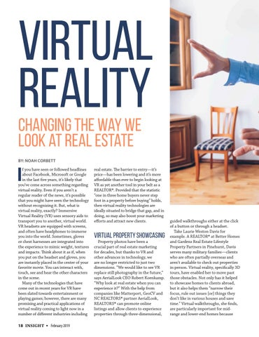Page 18 of Virtual Reality: Changing the Way We Look at Real Estate