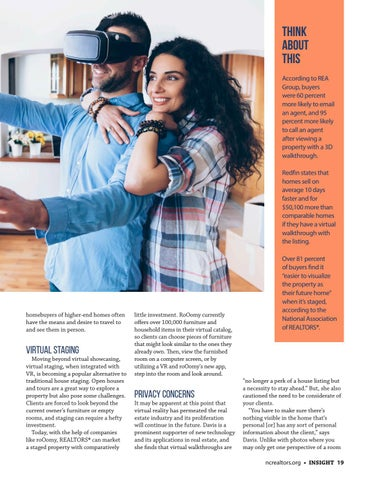 Page 19 of Virtual Reality: Changing the Way We Look at Real Estate