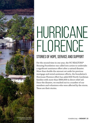 Page 23 of Hurricane Florence: Stories of Hope, Service and Support