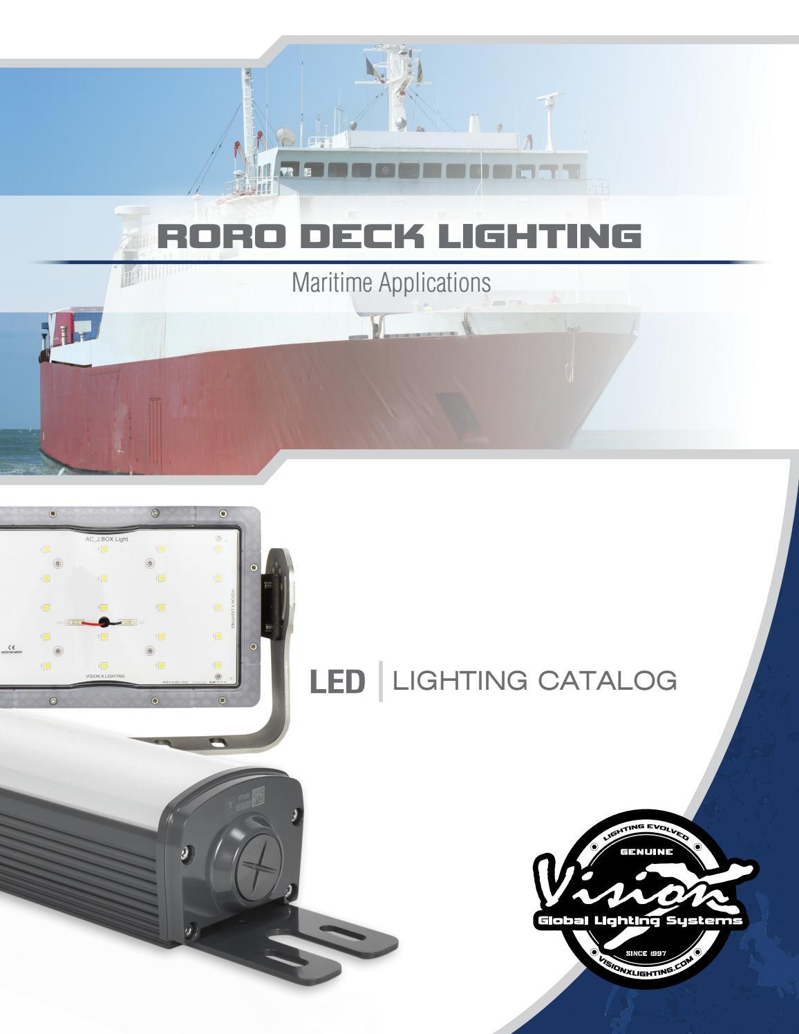Vision X Roro Vessel Lighting By Vision X Lighting Issuu