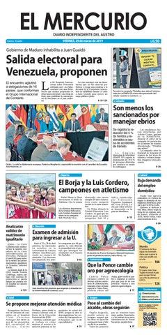 26ffaccf8d83 El Mercurio-29-03-2019 by Diario El Mercurio Cuenca - issuu