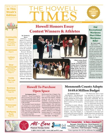 2019-04-06 - The Howell Times by Micromedia Publications