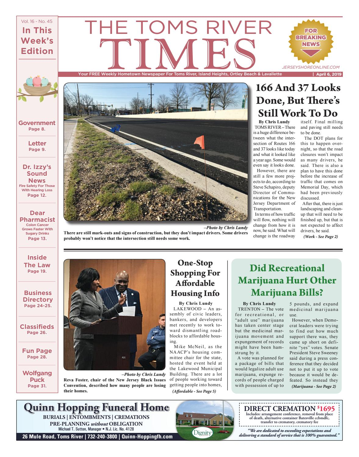 2019-04-06 - The Toms River Times by Micromedia Publications