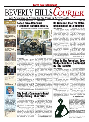 BH Courier E-edition 040519 by The Beverly Hills Courier - issuu