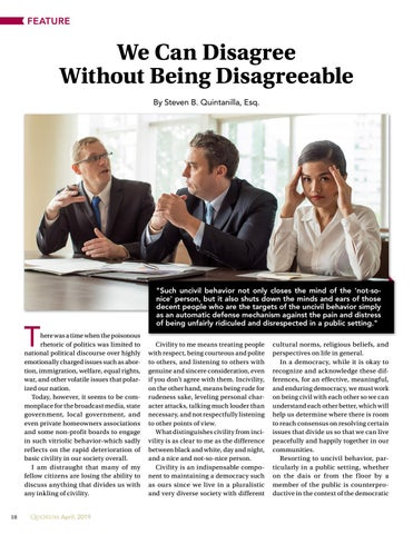 Page 18 of We Can Disagree Without Being Disagreeable