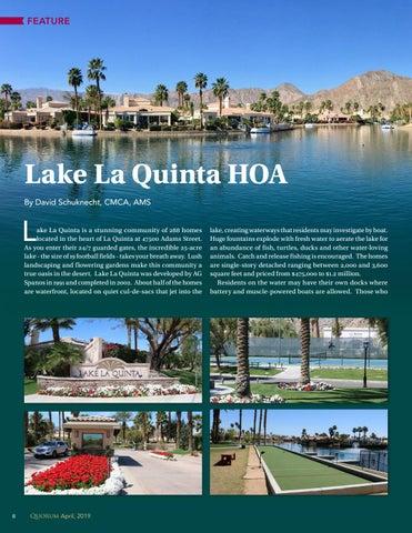 Page 8 of Lake La Quinta HOA