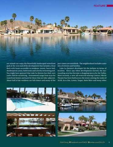 Page 9 of Lake La Quinta HOA