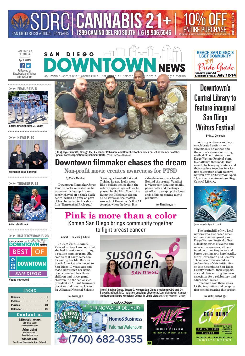 da9d4f9f San Diego Downtown News, Volume 20, Issue 4 by SDCNN - issuu