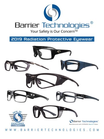 35cecd48582b0 Your Safety is Our ConcernTM. 2019 Radiation Protective Eyewear