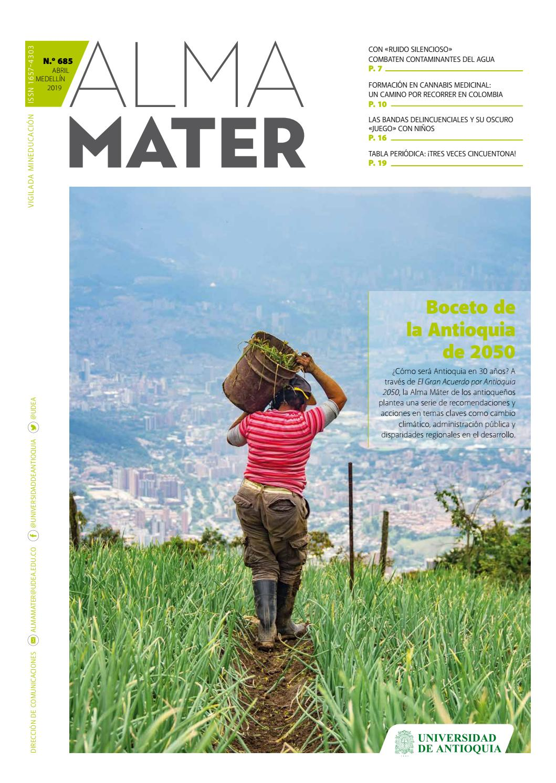 Alma Mater 685 By Universidad De Antioquia Issuu