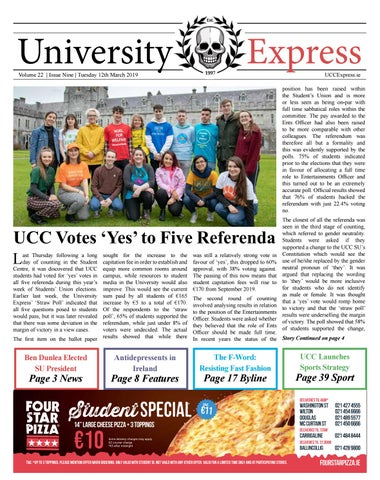 University Express Vol 22 Issue 9 by University Express - issuu