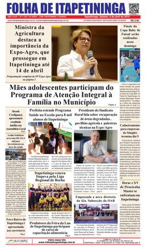 Folha de Itapetininga 06/04/2019 (Sabado)