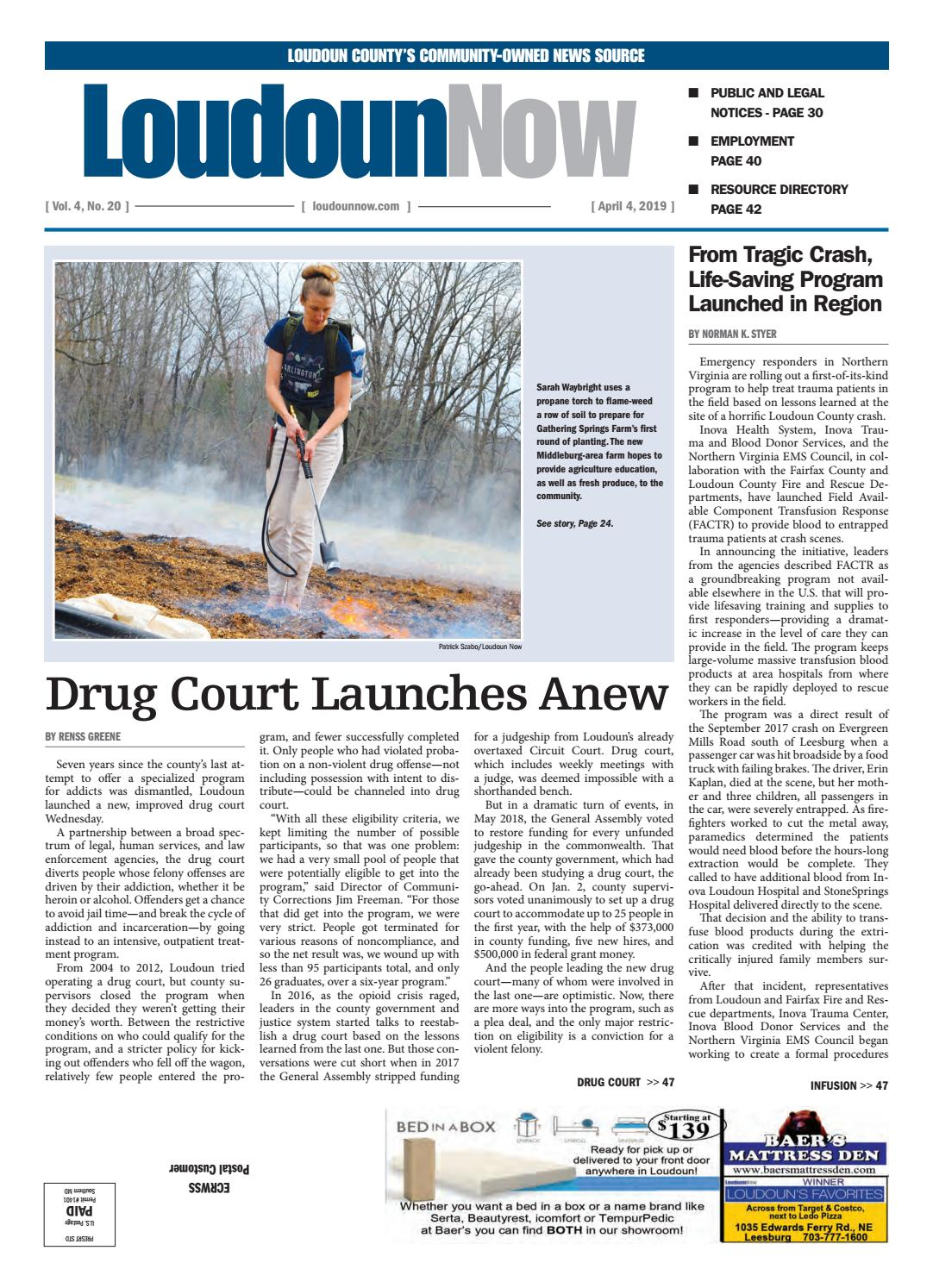 Loudoun Now for April 4, 2019 by Loudoun Now - issuu