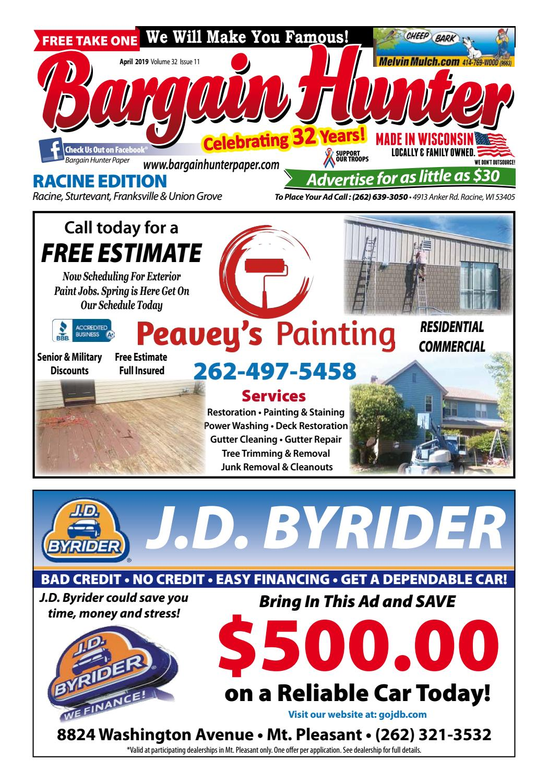 Bargain Hunter Racine April 2019 by Jeff Scott - issuu