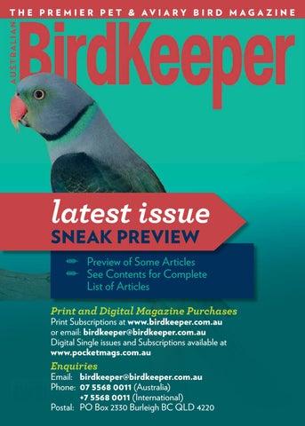 Australian BirdKeeper Volume 32 Issue 8 by ABK/Reptile