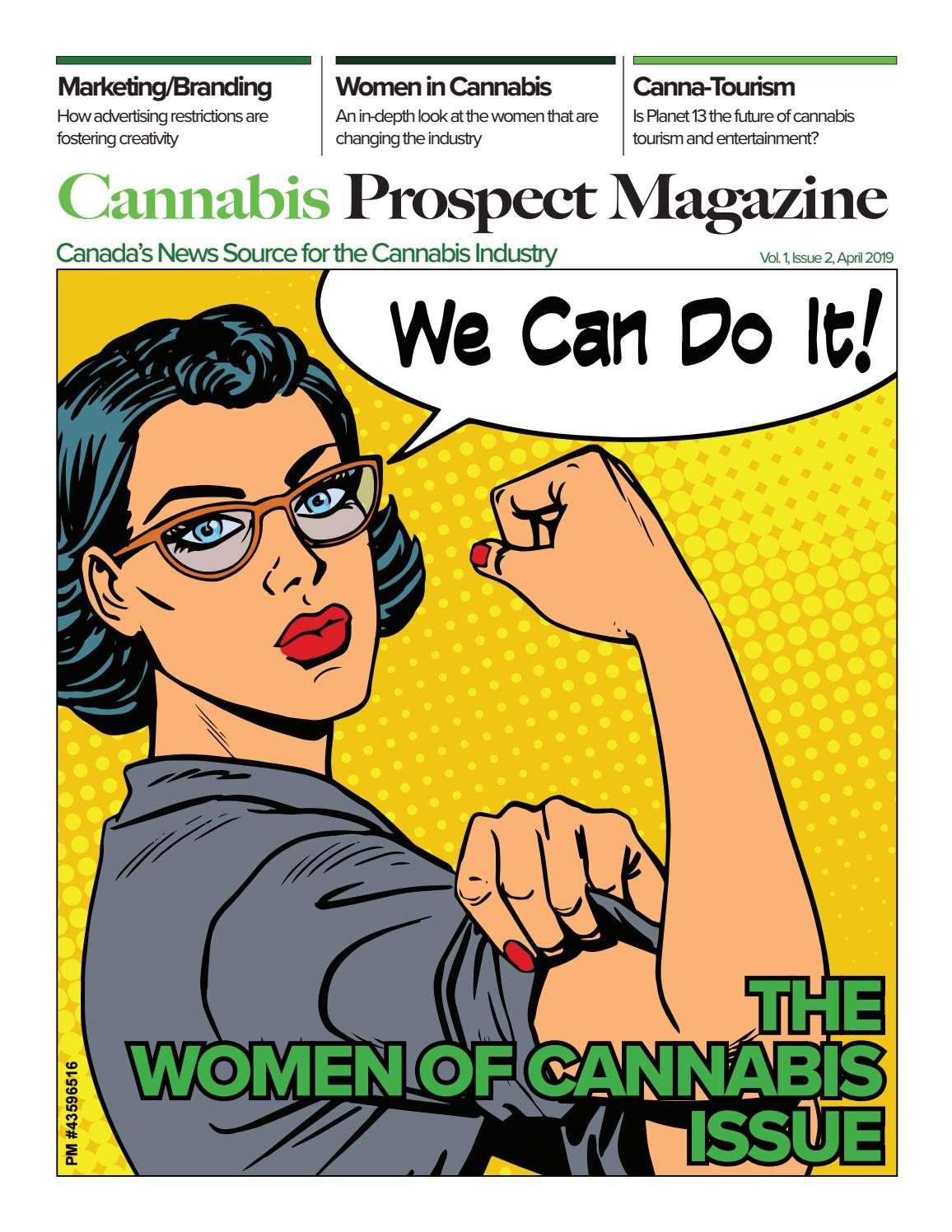 Cannabis Prospect Magazine - April '19 - Issue #2