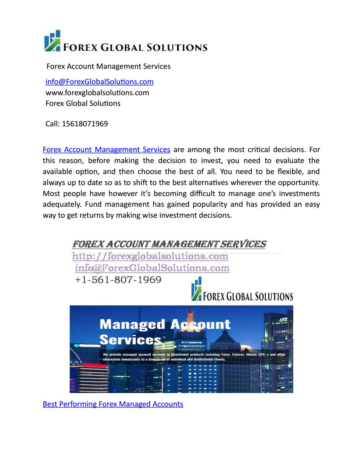 Forex managed investments prudential investments retirement