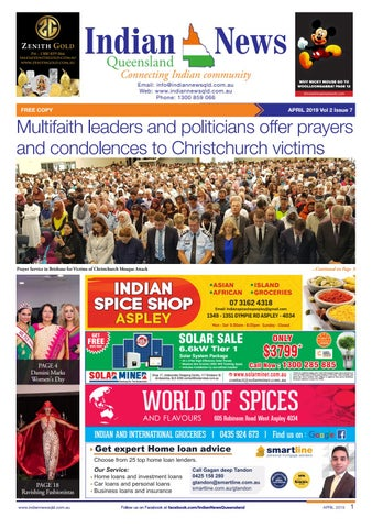 Indian News Queensland - April 2019