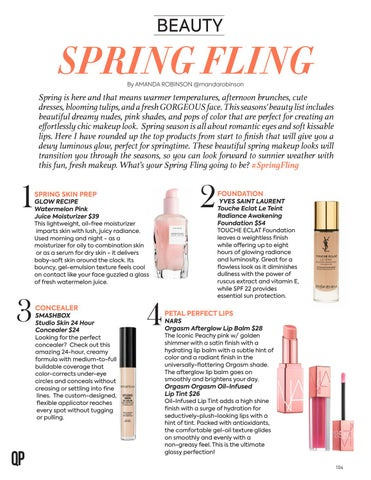 Page 104 of Beauty: Spring Fling