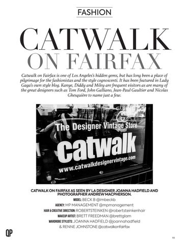 Page 44 of Catwalk on Fairfax