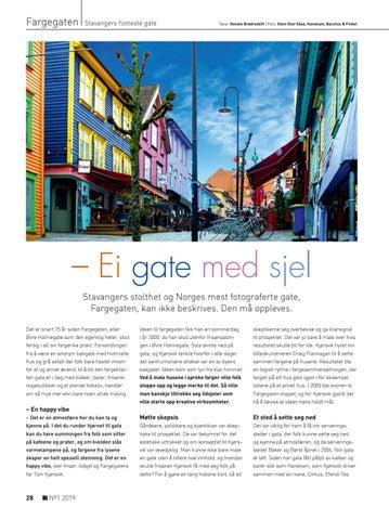 Page 28 of Fargegaten: - Ei gate med sjel