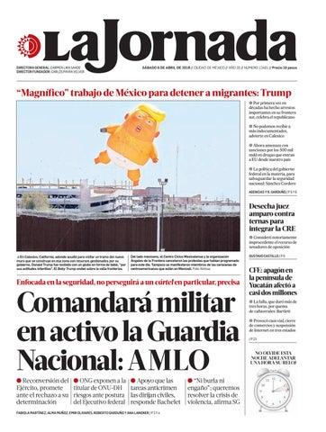 La Jornada, 04/06/2019 by La Jornada - issuu