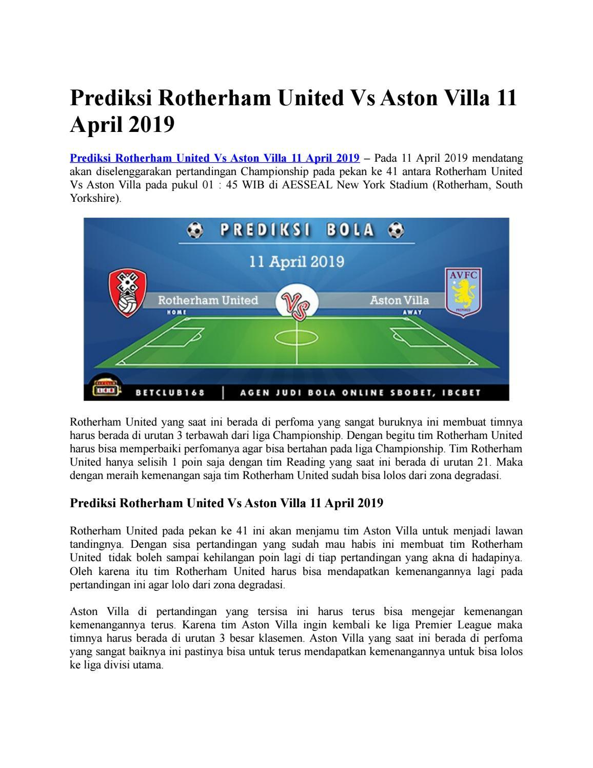 Aston Villa Klasemen Aston Villa News Now