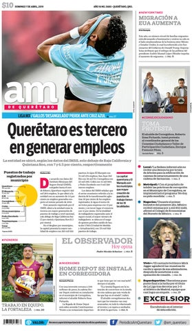 93601344d 07 I 04 I 2019 by AM Queretaro - issuu