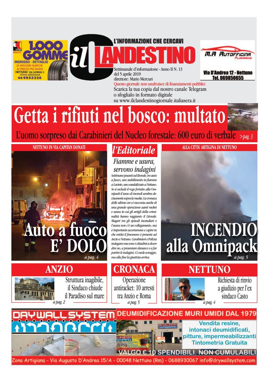 Il Clandestino Giornale Anno 2 N 13 By Il Clandestino Giornale Issuu