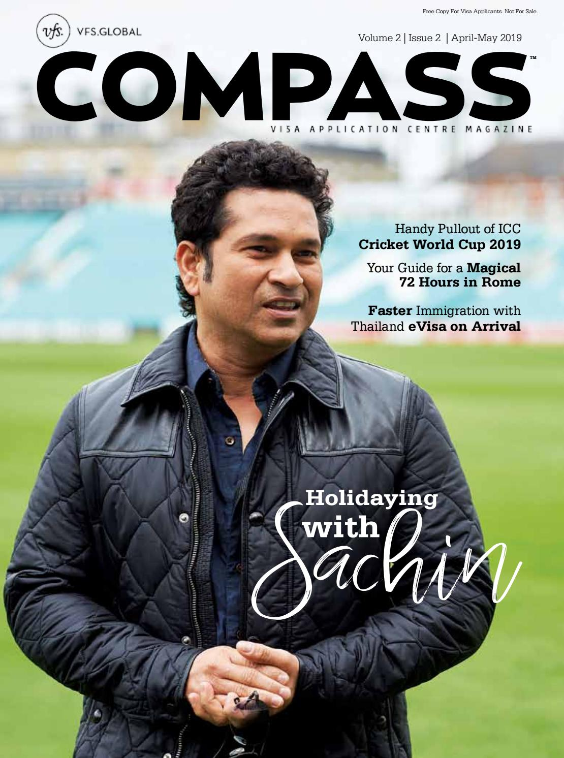 VFS Global COMPASS (India Edition) April - May 2019 by