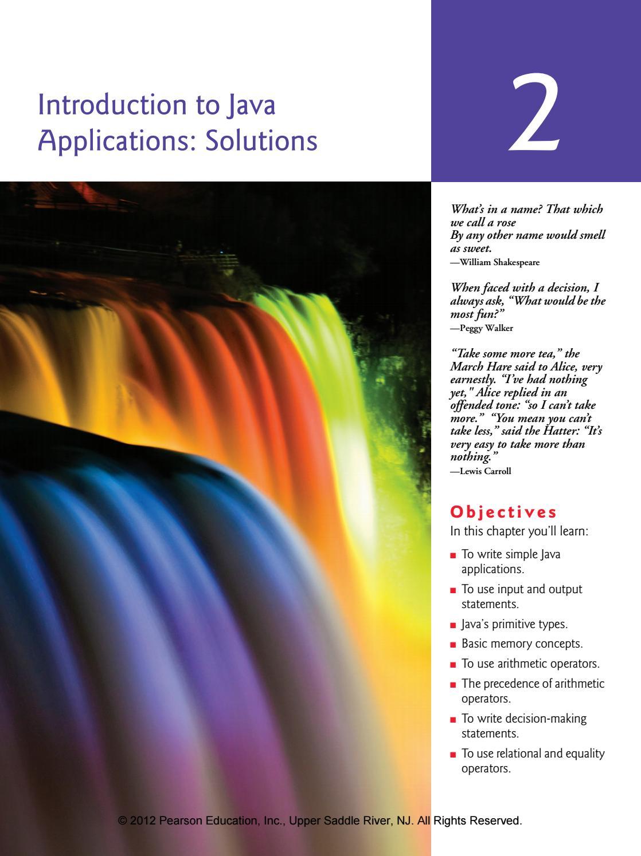 Java How To Program 9th Edition Deitel Solutions Manual By Alyssa Issuu