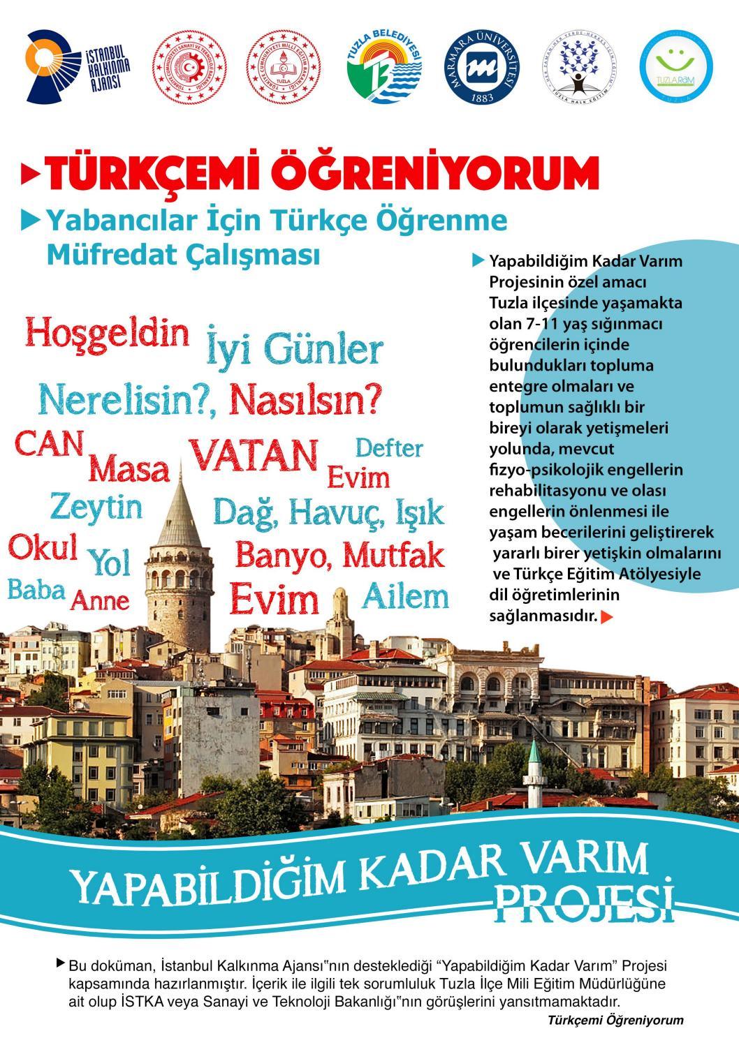 Turkcemi Ogreniyorum By Akif Guner Issuu