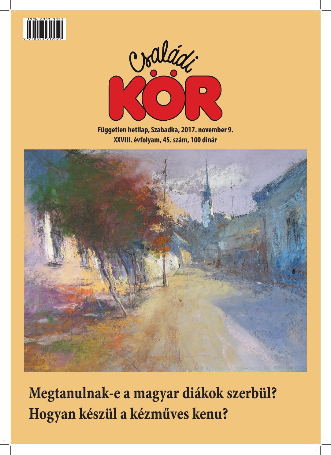 3c811017034a Családi Kör, 2017. november 9. by yuhar - issuu