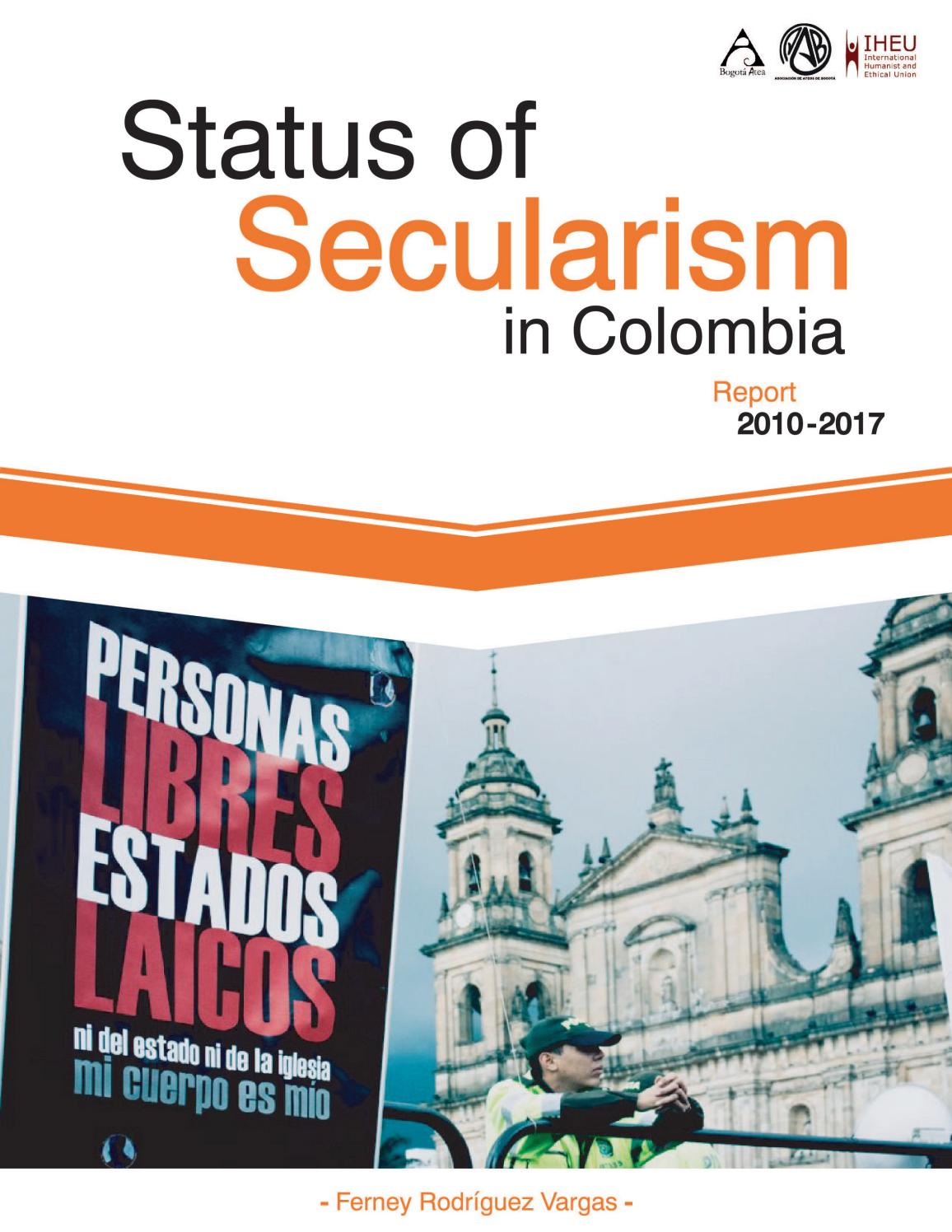 Azucena Hernández Iglesias Porn Nude status of secularism in colombia 2010-2017 (book)