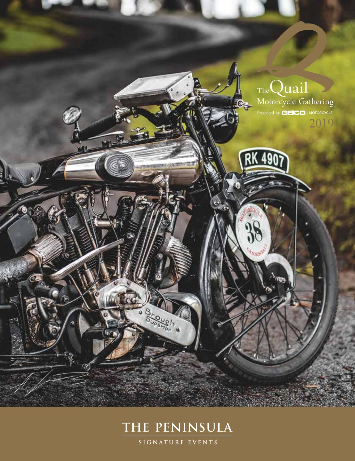 The Quail Motorcycle Gathering 2019 By The Antithesis Issuu