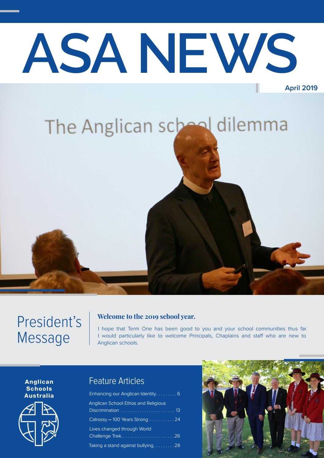 ASA NEWS APRIL 2019 ISSUE by Scotts - issuu