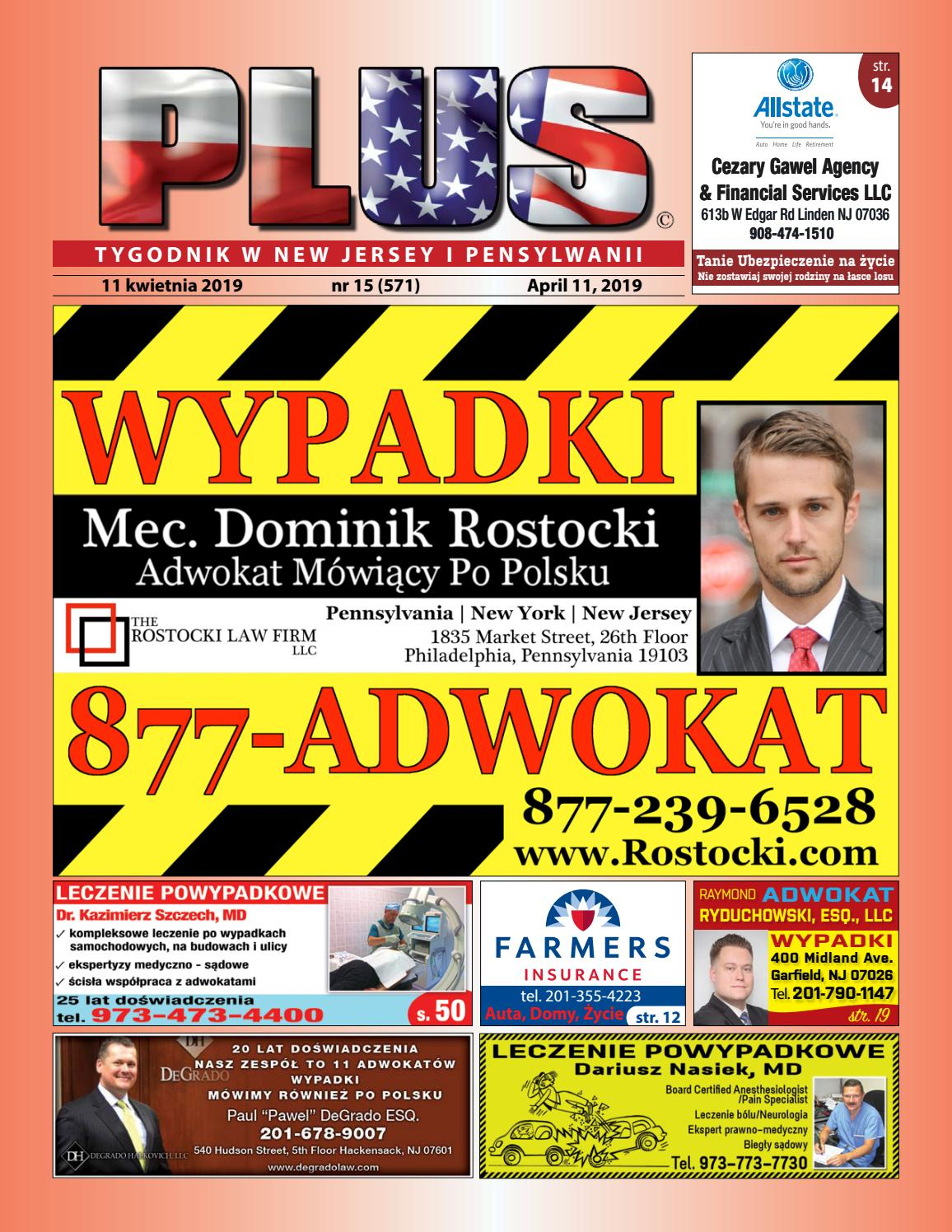 688d978d4333b Najnowszy numer Tygodnika PLUS w New Jersey by PLUS Media Group - issuu