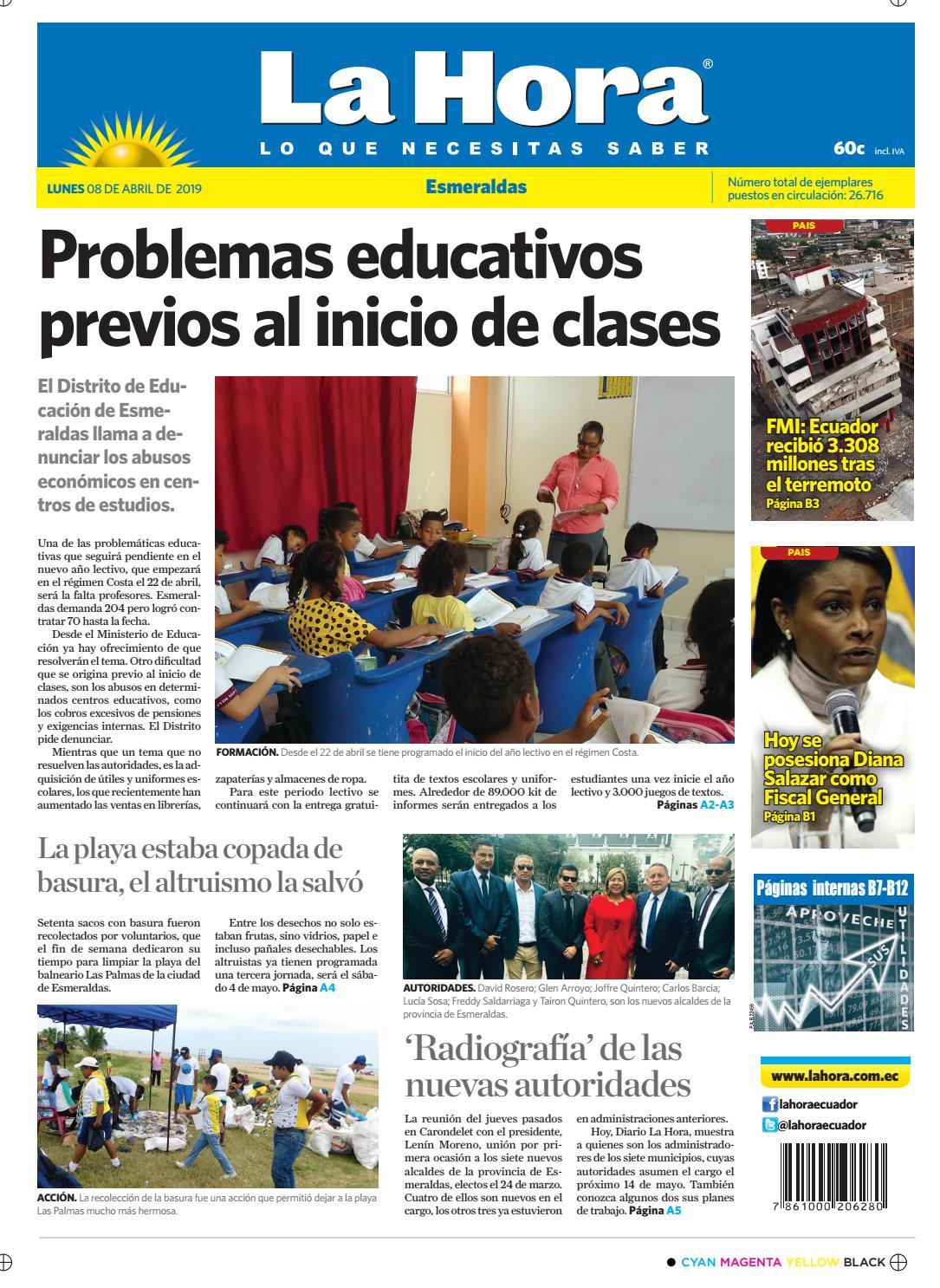 613db762505 Esmeraldas 09 de abril de 2019 by Diario La Hora Ecuador - issuu