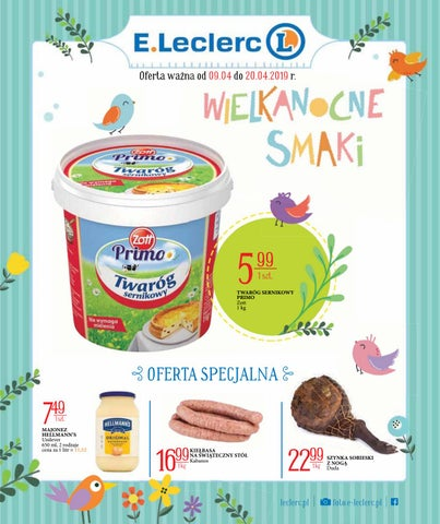 Eleclerc Od 904 Do 20042019 By Iulotkapl Issuu
