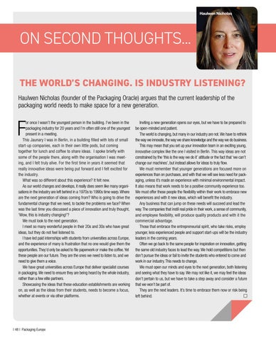 Page 50 of The World's Changing. Is Industry Listening?