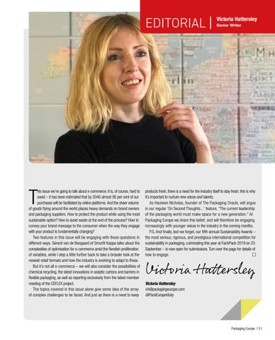 Page 5 of Editorial – Victoria Hattersley, Senior Writer