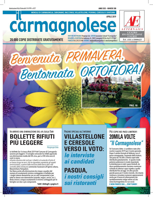 Centro Del Materasso Carmagnola.Il Carmagnolese Aprile 2019 By Redazione Il Carmagnolese Issuu