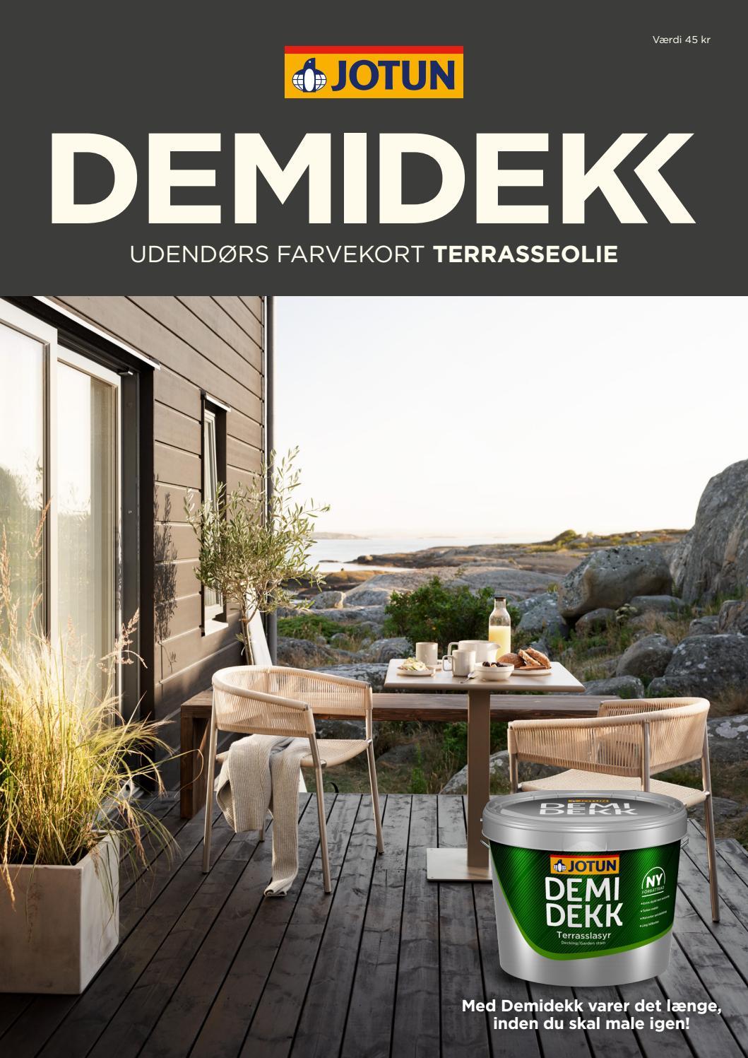 Picture of: Demidekk Udendors Farvekort Terrasseolie 2019 By Jotun Danmark Issuu