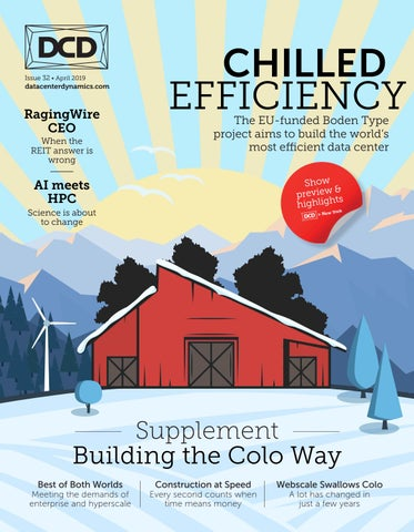 DCD>Magazine Issue 32 - Chilled Efficiency by DCD Magazine - issuu