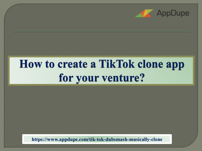 Tik Tok Clone App Script by angeline geo - issuu