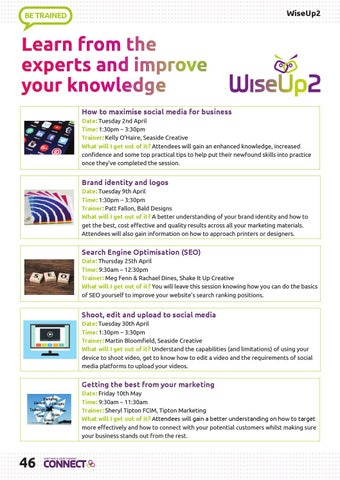 Page 46 of WiseUp2 training workshops