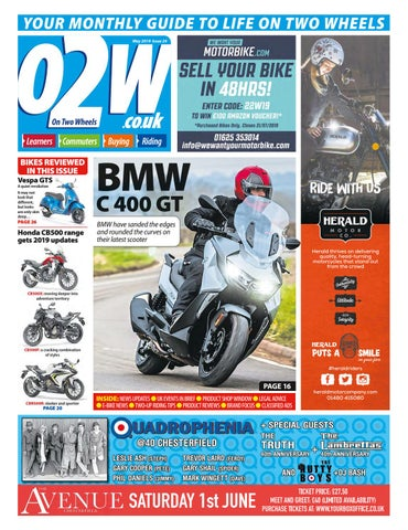 bc146f169 On Two Wheels May 2019 by Mortons Media Group Ltd - issuu