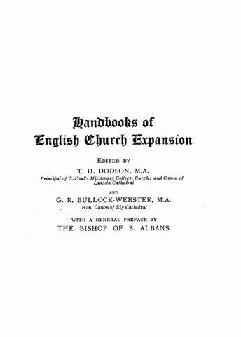 C F  Andrews [1871-1940], North India  Handbooks of English Church