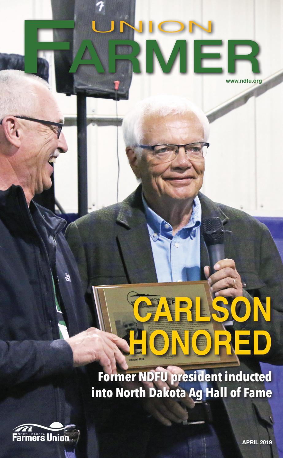 union farmer april 2019 by north dakota farmers union issuu issuu